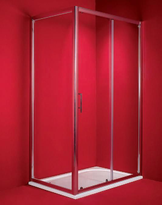Hopa Braga 80x120-as téglalap alapú zuhanykabin (matt, króm, 80 x ...
