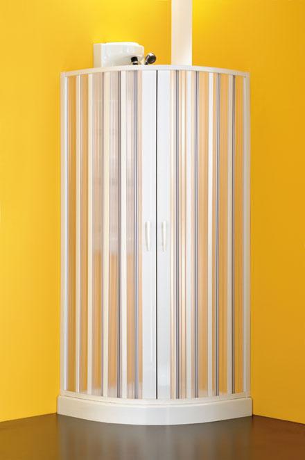 Hopa Sfera negyedköríves zuhanykabin (Fehér (C), Műanyag, 90-70 x ...