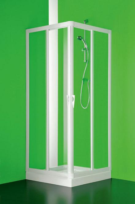 Hopa Vela négyzet alapú zuhanykabin (70 x 70 x 185 cm, Fehér ...
