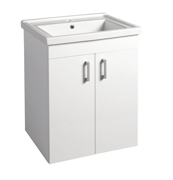 Aqualine POLY 60 fürdőszobaszekrény mosdó nélkül (PL062 ...