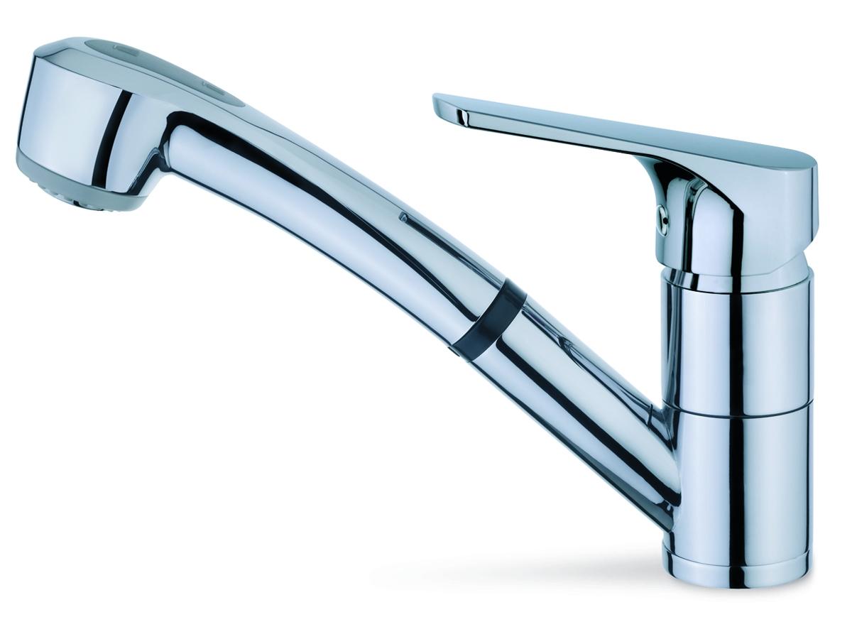 Akciós Kihúzható fejes, zuhanyfejes mosogató csaptelep - SzaniterPláza