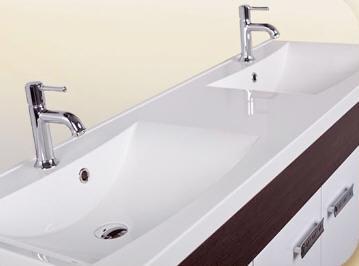 Infinity Pleasure 1500 fürdőszobabútor dupla mosdóval - SzaniterPláza