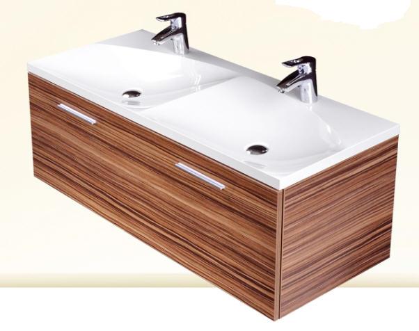 Infinity Sanremo 1200 fürdőszobabútor dupla mosdóval - SzaniterPláza