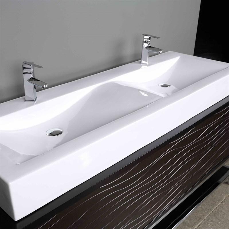 Marmy Ravenna 150x50 Ráültethető öntött márvány mosdó - SzaniterPláza