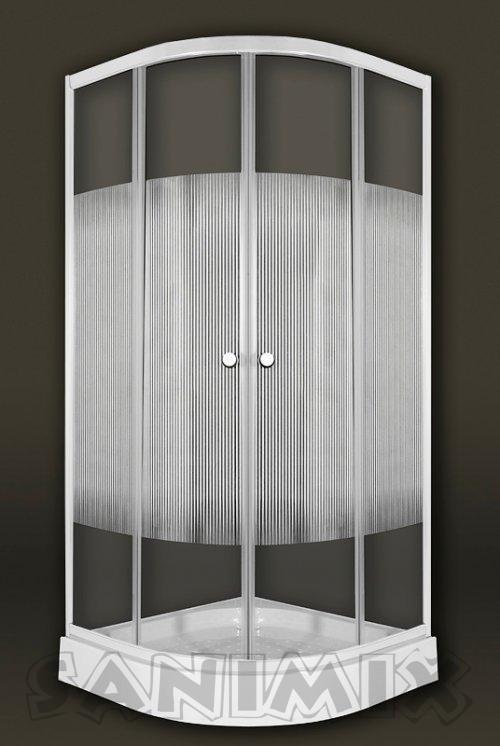Akciós Negyedköríves zuhanykabin - SzaniterPláza