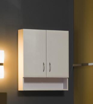 Tboss Bianka F60P fürdőszobai felső szekrény (dió) - SzaniterPláza