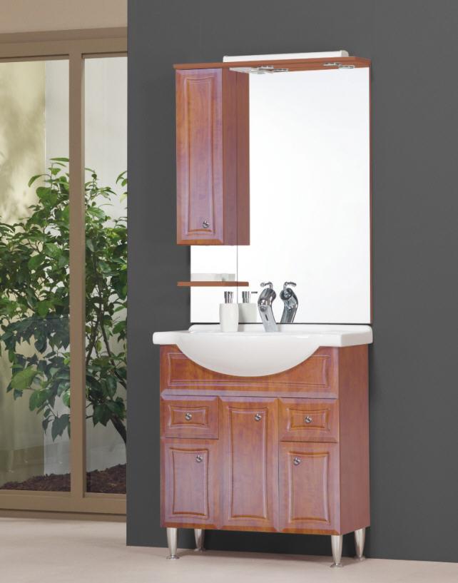Tboss Bianka Plusz 75 fürdőszobabútor komplett szett (szilva ...
