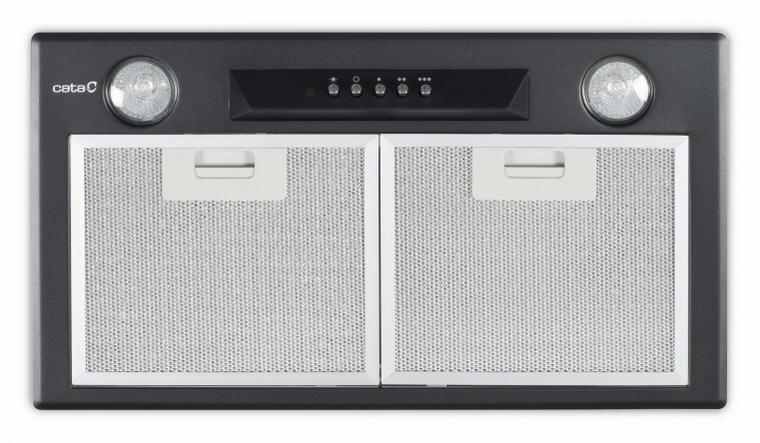 Cata GT-PLUS 45 beépíthető páraelszívó 45 cm, fekete, 02030401