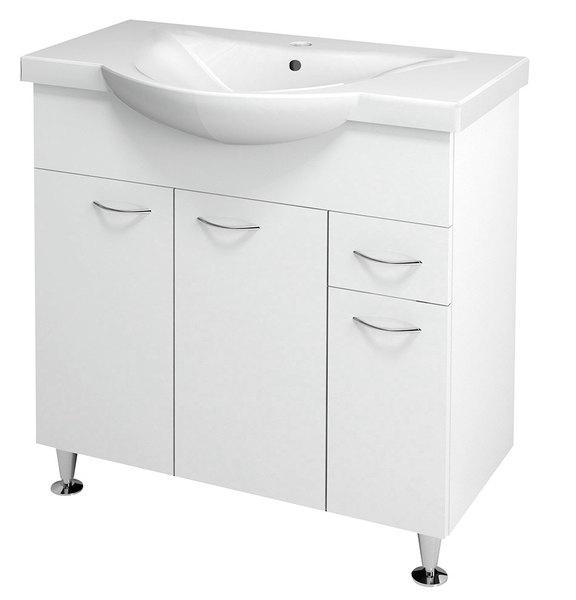 Aqualine KERAMIA FRESH fürdőszoba szekrény, mosdó nélkül (50082 ...