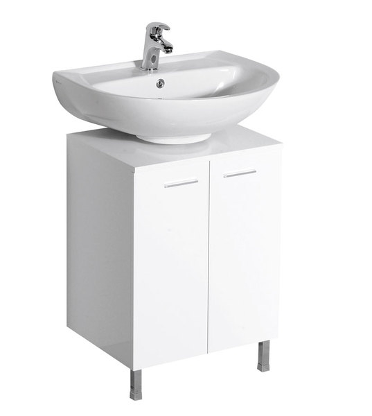 Aqualine mosdótartó szekrény, mosdó nélkül 50x30x50 cm (57030 ...