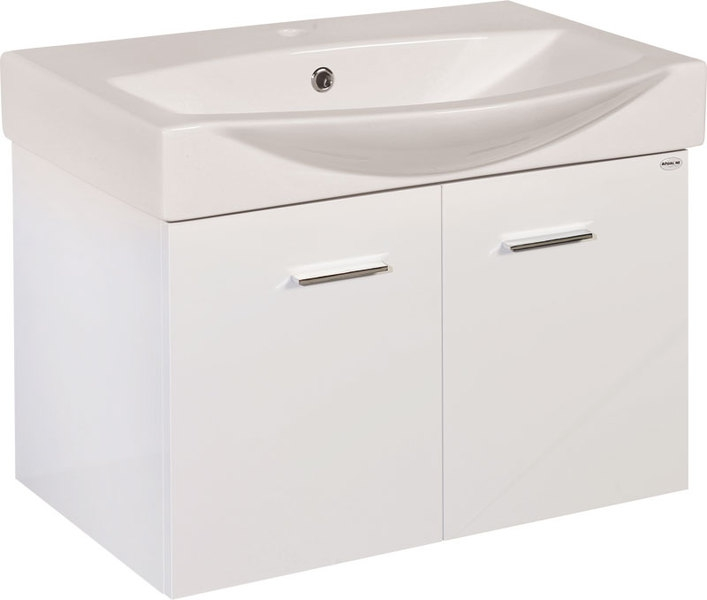 Aqualine ZOJA fürdőszoba szekrény, mosdó nélkül (51067 ...