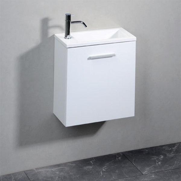 Sapho LATUS 45x50x23 cm mosdótartó szekrény, mosdó nélkül, fehér ...