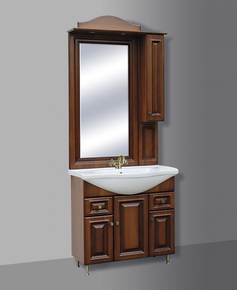 Guido Barokk 86 tükrös fürdőszoba szekrény alsó rész mosdóval ...