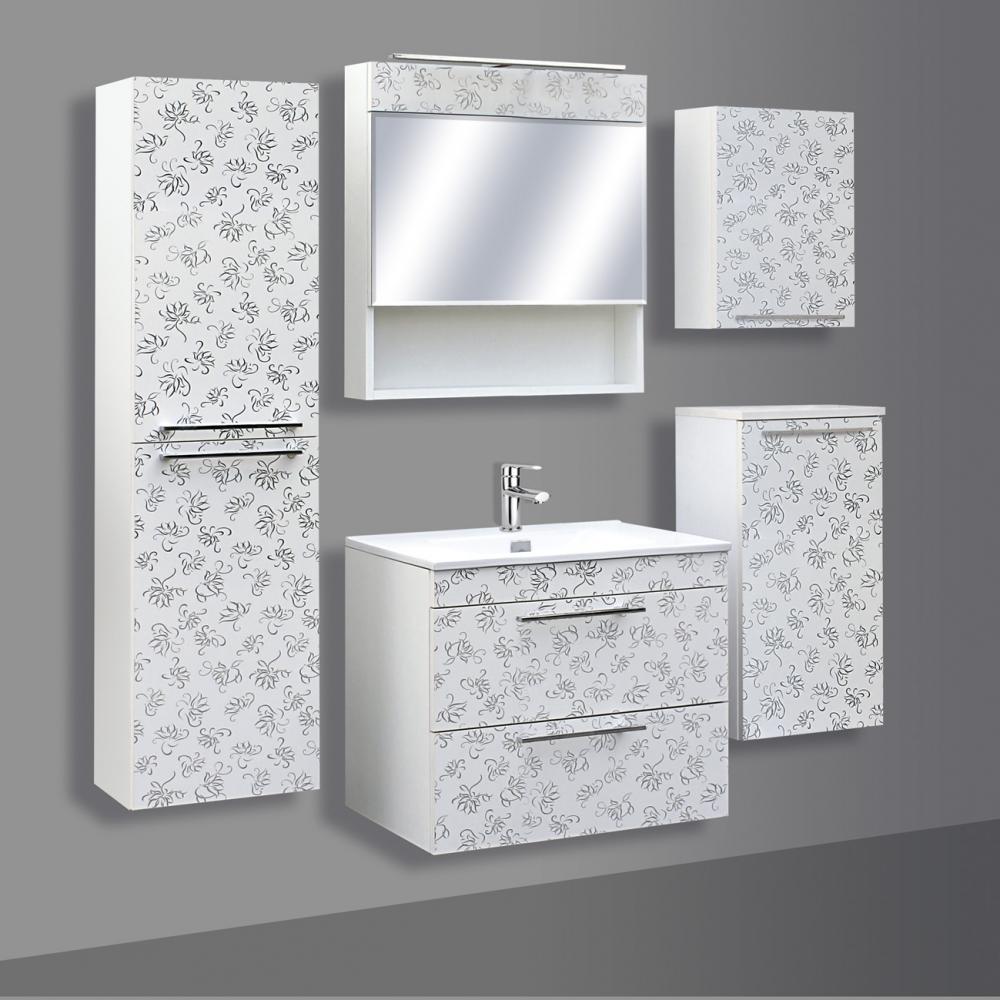 Guido Prémium Extralux Paolo tükrös felső fürdőszoba szekrény ...