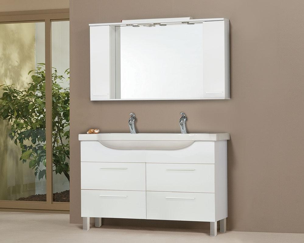 Tboss Bianka Trend 130 fürdőszobabútor komplett szett (juhar) - SzaniterPláza