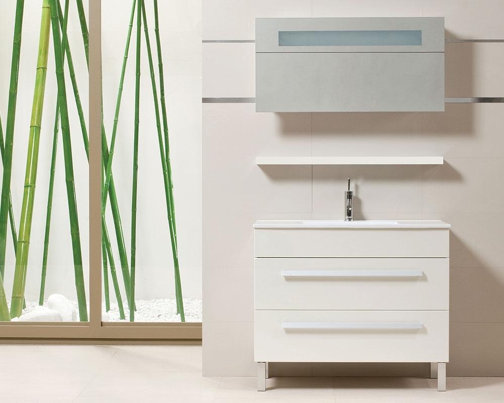 Tboss Premium 90 fürdőszobabútor komplett szett (cseresznye) - SzaniterPláza