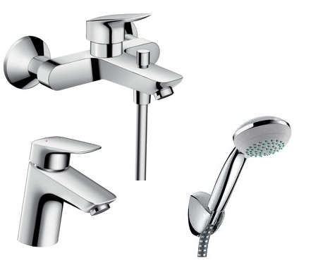 Hansgrohe logis affordable large preview of d model of Hansgrohe logis loop single hole bathroom faucet