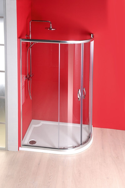 Íves aszimmetrikus zuhanykabin 90 »–› ÁrGép
