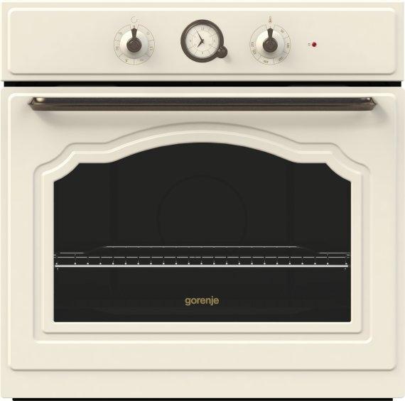 Gorenje Classico beépíthető sütő A, bézs BO73CLI