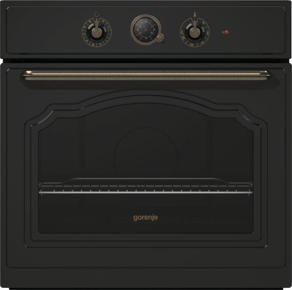 Gorenje Classico beépíthető sütő A, matt fekete BO73CLB