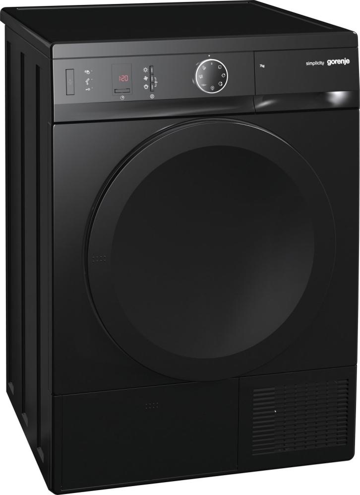 Gorenje Simplicity szabadonálló kondenzációs szárítógép A++, fekete D76SY2B