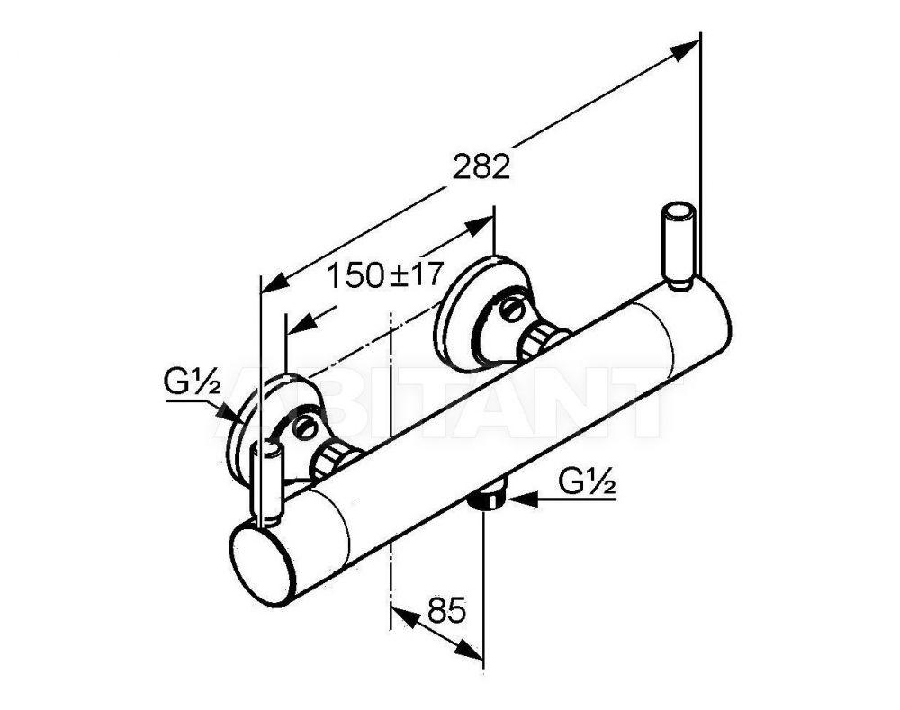 kludi medi care termoszt tos fali zuhanycsaptelep kr m 353300538 szaniterpl za. Black Bedroom Furniture Sets. Home Design Ideas
