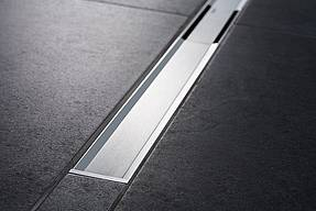 geberit cleanline20 zuhanyfoly ka 30 90 cm hossz bes llyesztett fekete sz lcsiszolt. Black Bedroom Furniture Sets. Home Design Ideas