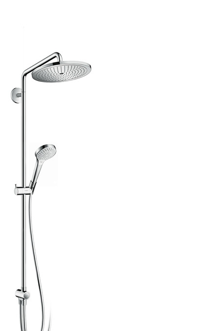 hansgrohe croma 280 1 jet showerpipe rg p. Black Bedroom Furniture Sets. Home Design Ideas