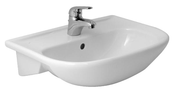 félig beépithető mosdó Jika Olymp 55x42 cm félig beépíthető mosdó 8.1761.2.000.104.1  félig beépithető mosdó