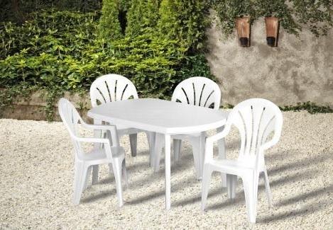 Curver Elise műanyag kerti asztal, Szín: Sötét zöld
