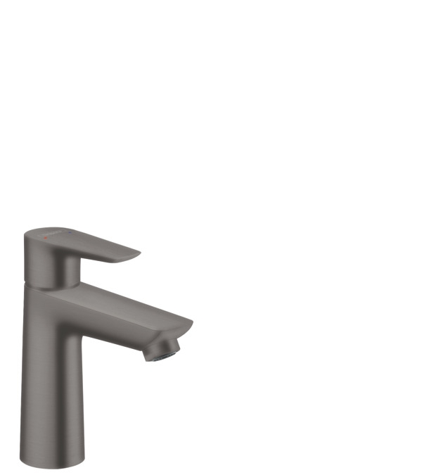 Hansgrohe Talis E egykaros mosdócsaptelep 110 automata lefolyó garnitúrával, szálcsiszolt bronz 71710140